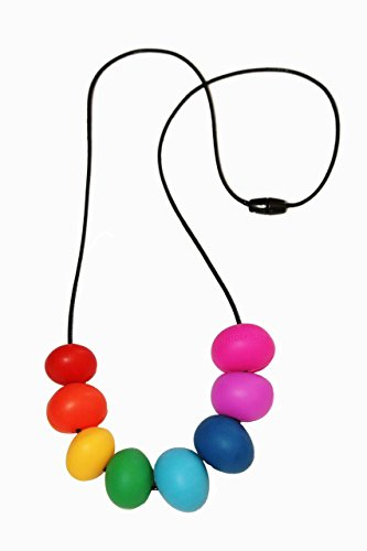Abacus Rainbow Teething Necklace - A Modern and Fashionable Solution to an Age Old Teething Problem