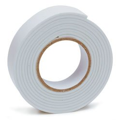 3/4 X 5 Double Faced Foam Tape White-2Pack