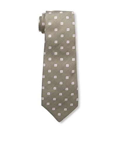 Kiton Men's Patterned Tie, Brown