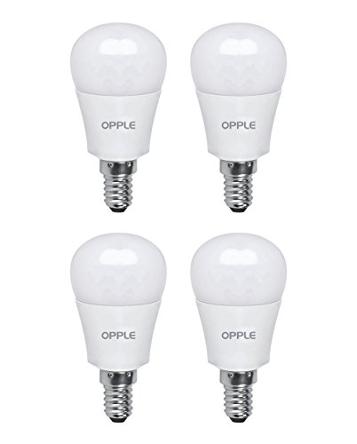 Opple-5W-E14-Plastic-LED-Bulb-(Yellow,-Pack-of-4)