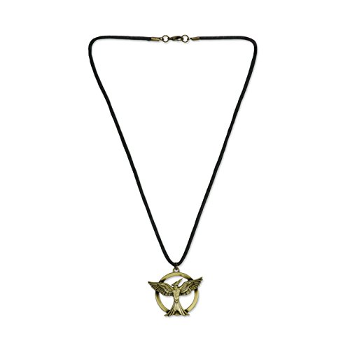 "Hunger Games Mockingjay Movie Part 1 - Cord Necklace ""Mockingjay"" - 1"