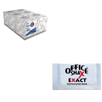 kitkim21271ofx00060-value-kit-office-snax-nutrasweet-blue-sweetener-ofx00060-and-kimberly-clark-klee