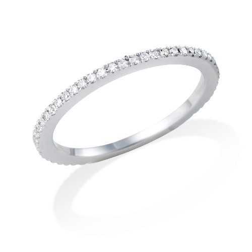 Eternity Ring, 18ct White Gold Diamond Eternity Ring, 1/3 carat Diamond Weight, by Miore, MP005