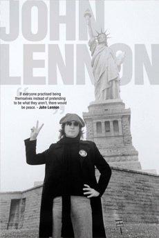 ジョンレノン John Lennon Peace in NY ポスター大判