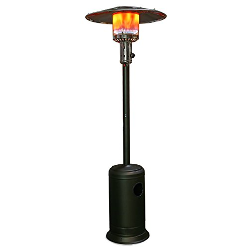 XtremepowerUS-48000-BTU-Premium-Floor-Standing-Propane-Outdoor-Patio-Heater-Bronze-Hammered