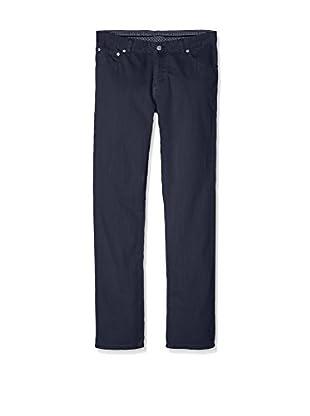 Hackett London Pantalón 5Pkt Herringbone Y (Azul)