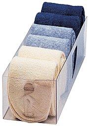 Boîte Chaussettes-Transparent - 3,5