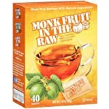 Stevia: Monk Fruit in the Raw Sweeteners, 40 ct (2 pack)