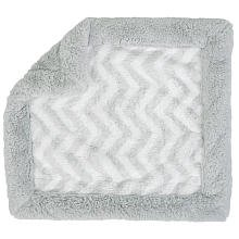 Koala Baby Security Blanket - Gray Chevron
