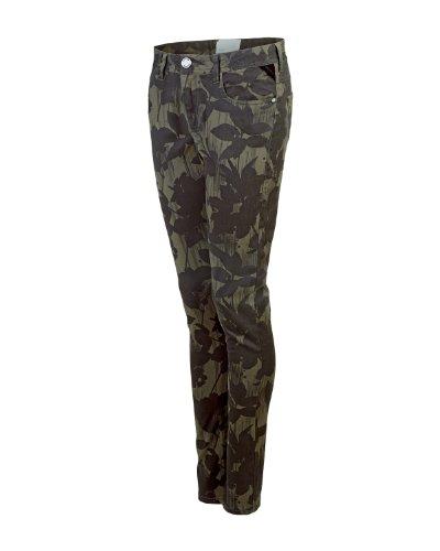 Bench, Pantaloni Donna Mashaboo B, Marrone (BR028), XX-Small (Taglia Produttore: W25L30)