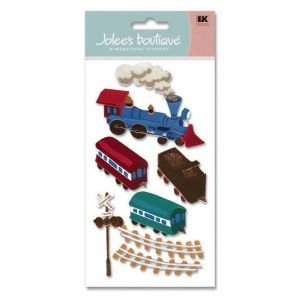 LEGRANDE 3D CHOO CHOO TRAIN Papercraft, Scrapbooking (Source Book)