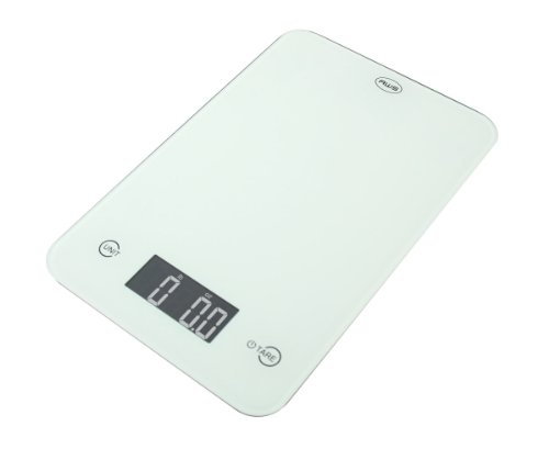 American Weigh Scales American Weigh ONYX Slim Design Kitchen Scale, 11-Pound by 0.1-Ounce, White