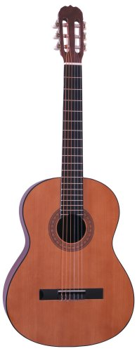 Hohner Hc09E Full Sized Classical Nylon String Guitar With Electric Preamp