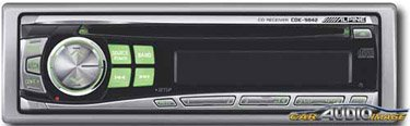 Alpine Cde-9842 - Radio / Cd Player - Full-Din - In-Dash - 45 Watts X 4 front-67557