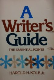 A Writer's Guide: The Essential Points