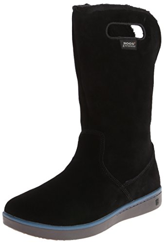 Bogs Women's Boga Waterproof Insulated Boot, Black (Bogs Boot Liner compare prices)