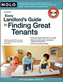 img - for Every Landlord's Guide to Finding Great Tenants 2nd (second) edition Text Only book / textbook / text book