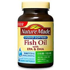 ネイチャーメイド FishOil魚油 240粒