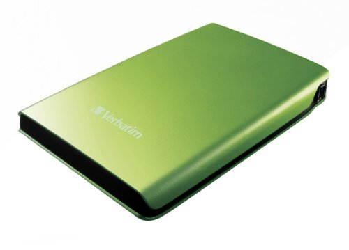 Verbatim 53009 500GB USB 2.0 - 2.5 inch External Hard Disk Drive - Green
