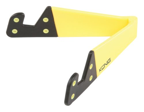 König Universell zusammenklappbarer Tablet Ständer, gelb