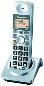 PANASONIC KX-TGA101S DECT 6.0 SERIES CORDLESS PHONE SYSTEM WITH ANSWERING SYSTEM ACCESSORY HANDSET