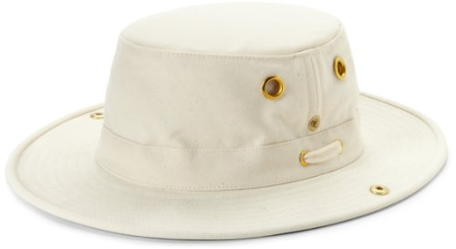Tilley T3 Hat (8, Natural/Green)