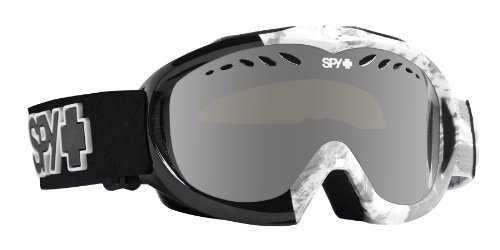 Spy Optic Targa Mini Goggle (Snow Leopard with Bronze Silver Mirror Lens)