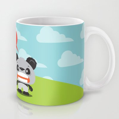 Society6 - Panda Love Coffee Mug By Steph Dillon