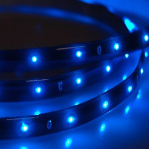 2 x flex led strip band streifen 120cm f r auto 12v blau auto. Black Bedroom Furniture Sets. Home Design Ideas