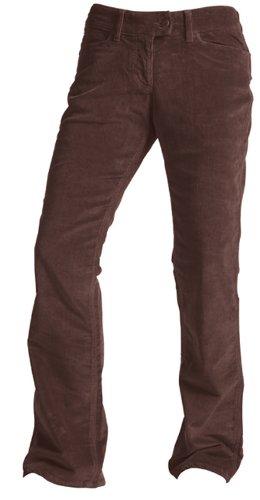 Mountain Khakis Mountain Khakis Women's Cottonwood Cord Long Pant, Chocolate, 6 Long