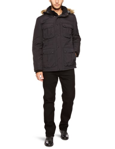 Lee Long Loco Puffa Men's Coat Black Medium