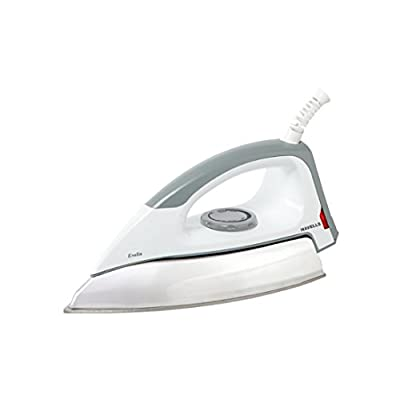 Havells Evolin 1100-Watt Dry Iron (Grey/White)
