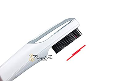 Project E Beauty Pro Portable 2in1 RED LED Light + Vibration Hair Growth Comb
