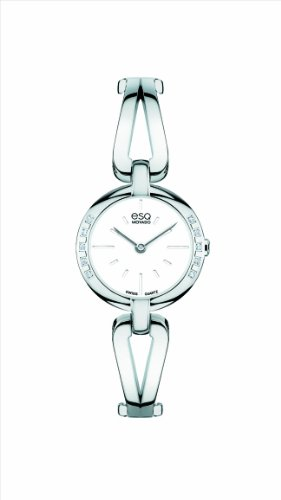 ESQ Movado Women's 07101395 esq Corbel tm Stainless Steel Diamond Case Watch