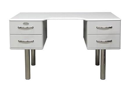 Tenzo scrivania Malibu 5253in bianco
