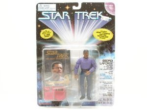 "Star Trek the Next Generation Geordi LaForge ""All Good Things"" 4.5"" Action Figure"