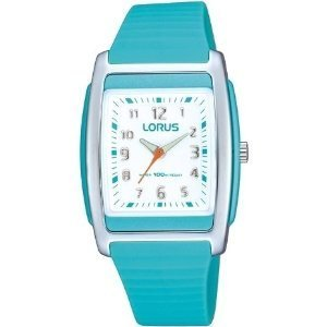 Lorus Blue Rubber Strap Ladies Sports Watch RRX85CX9