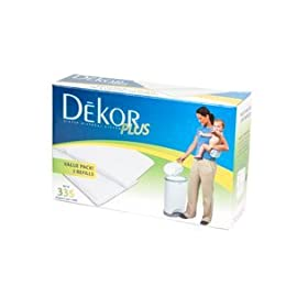 Diaper Dekor Plus Refill - 2 Pack