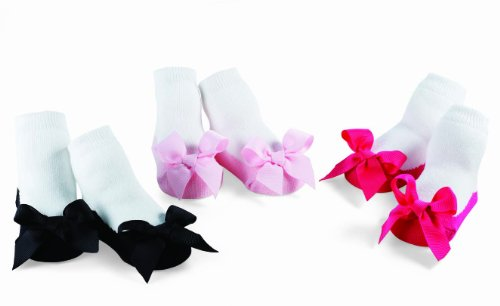 Mud Pie Princess Megan Socks Set, Multi, 0-12 Months