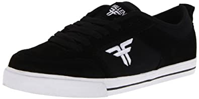 Fallen Men's Clipper SE Skate Shoe,Black/White,13 M US