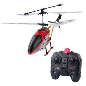 Dm144A 2.5-Channel R/C Helicopter Child Toy With Led Light-Red