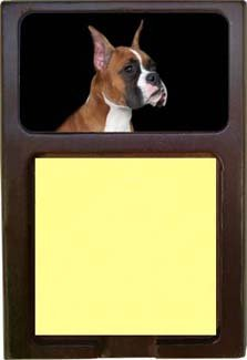 Boxer Sticky Note Holder impacted canine an overview