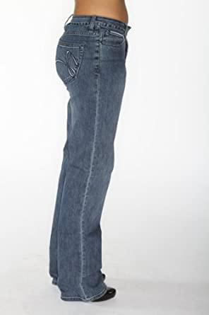 Desi Jeans Maggie Straight Leg womens jeans mid rise Ladies Size Number: Size 2