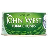 John West Tuna Chunks In Spring Water Pole And Line 185G