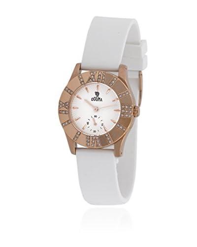 Dogma Reloj con movimiento cuarzo suizo DL7046P Blanco 31  mm