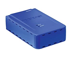 TRENDnet Wireless 1-Port Multi-Function Print Server TEW-MP1U (Blue)