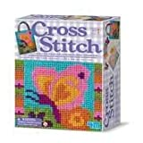 Cross Stitch - Childs / Children's Arts and Crafts Creative Activity Kit Toy