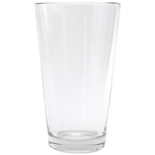 Anchor Hocking Pint Mixing Glass - Rim Tempered - 16 Oz, (4) (Heavy Duty Beer Glasses compare prices)