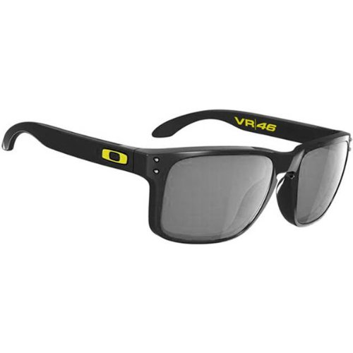 13a048d0292768 Buy OAKLEY Holbrook Sunglasses, Valentino Rossi VR46 Signature Edition,  polished black frame with warm
