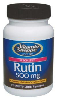 the Vitamin Shoppe - Rutin, 500 mg, 100 tablets